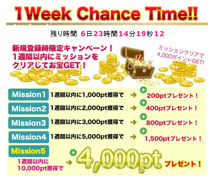 バンプク-1Week Chance Time!!