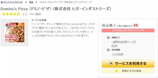 ドミノピザ-げん玉-詳細ページ