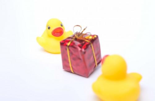 プレゼント交換-あひるちゃん