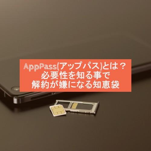 AppPass(アップパス)とは?必要性を知る事で解約が嫌になる知恵袋
