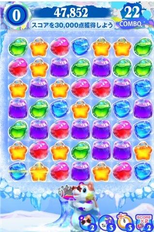 クラッシュアイスゲーム画面 (1)
