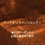 ロッテオンラインショップ!お得な裏技まで【秋のチョコレート収穫祭で最大半額中】