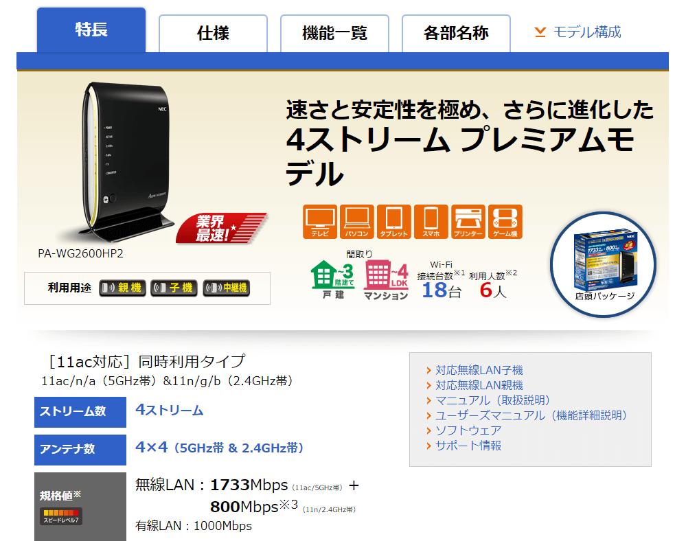 WG2600HP2